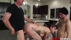 Rough Anal threesome with Isabel and Luna Thumb
