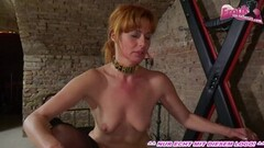 Petite asian shemale Coco stroking her horny shecock Thumb