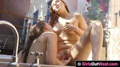 Naughty London Keyes and Bridgette B: Natural Born Lesbians! Thumb