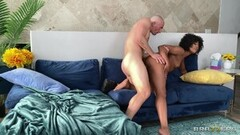 Kinky Blonde Star ass gushing with cum after anal casting Thumb