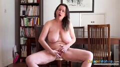 Fit Teen submissive Kimber Woods swallows cum Thumb