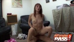 Big Assed Amateur Takes It Hard On Cam Thumb