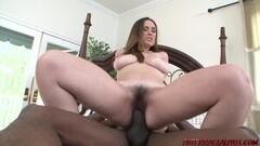 Sexy Black Plumper Alanna Lust Rides a Cock Thumb