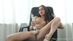 Naughty Gabriela Glazer Blackmailed into 3some Thumb
