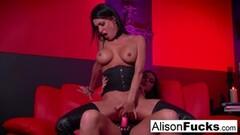 Latin Valentina Blanco toys wet pussy in sheer nylon pantyhose Thumb