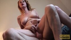 Hot Solo Sensual Striptease and Toying Thumb