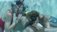 Steamy Amateur Threesome With Teen Lesbians Thumb