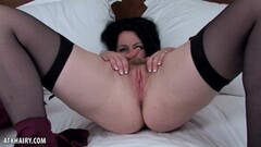Small tits British babe banged by old guy Thumb