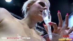 Naughty MILF lesbian fun with Kirsten and Jessica Thumb