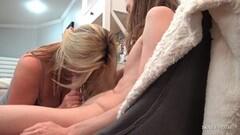 2 Girl Handjob Sharing - Clubtug Thumb