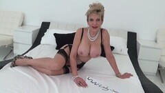 Busty Nikita Von James sticks a toy inside her tight pussy Thumb