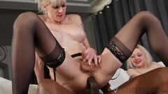 Sensual Lesbian Mae Olsen Licking pussy Thumb