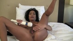 Fit Curvy TS Yume Farias Pumped Full of Cum Thumb