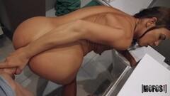 Sexy Amirah Adara Enjoys DP With Big Black Cocks Thumb