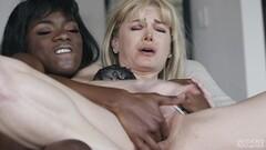 Luscious Carolina Sweets Interracial Gangbang Thumb