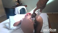 Sexy Petite Latina ex facialized in sex tape Thumb