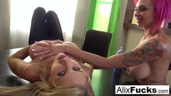Blonde Teen Anal Dildoing Thumb