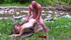 Sexy Mature Cougars ride German cock in threeway Thumb