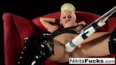 Miku Hoshino nurse masturbates with vibrator Thumb
