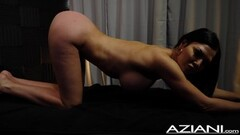 hot shaved virgin asian in pink panties Thumb