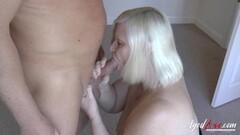 Horny housewife masturbating Thumb