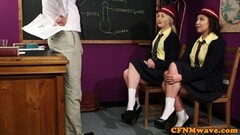 Female Agent Sexy agent gets licked clean Thumb