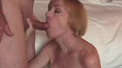 Petite babe devours this hard cock Thumb
