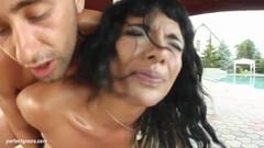 Babe Chloe Couture throat fucks this hard dick Thumb