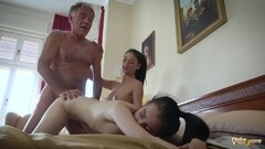 Cocksucked and fucked mature bears Thumb