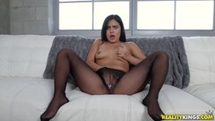 Pierced nipples dark haired slave in bondage Thumb
