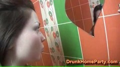 They like to fuck in the bathroom in a free video Thumb