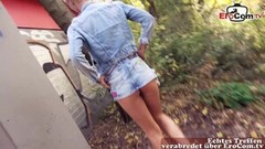 Hot german skinny short hair milf public pick up EroComDate Thumb