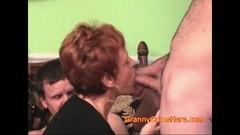 Kinky Granny Shows How a BLOWBANG is Done Thumb