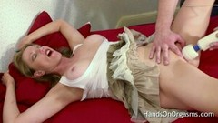 Busty Holly Kiss Screams As She Is Made To Cum Thumb
