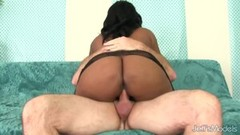 Naughty Curvy Black Babe Ms Mirage Fucks Old Man Thumb