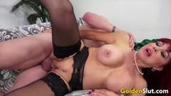 Golden Slut - Pounding Older Pussies Collection Part 4 Thumb