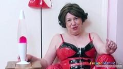 Hot Busty British Lady Solo Masturbation Thumb