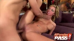 Deep Rough Sex Ends With Facials And Jessi Chokes On Cum Thumb