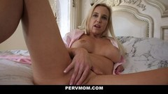 Hot StepMom Teases Her StepSon's Boner Thumb
