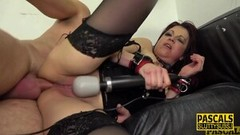 Kinky Rimming fetish milf submissive gets anal Thumb