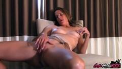 Kinky Stunning Sofie Marie Teases And Masturbating Thumb