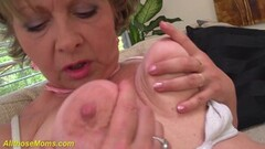 Sexy grandmas first porn video filmed Thumb