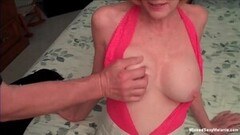 Hot Fun With The Granny Amateur MILF Thumb
