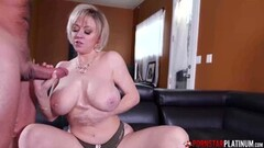 Chested MILF Dee Williams Blows Huge Cock Thumb