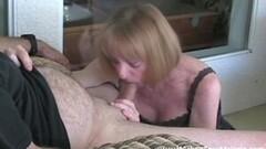 Granny Giving Blowjob Thumb