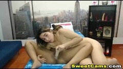Two Naughty Lesbians Eats Each Others Pussy On Webcam Thumb