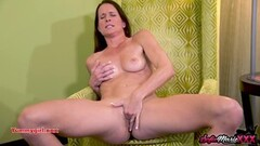 Naughty Mature Sofie Marie Wanking In Panties Thumb