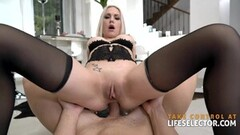 Naughty Health maniac Angie Lynx needs her daily sex Thumb