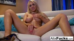 Naughty Solo action starring beautiful porn starlet Alix Lynx! Thumb