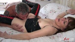 Hot British Mature Got Licked and Fucked Thumb